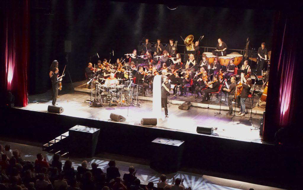 l'orchestre de Tournefeuille au Phare